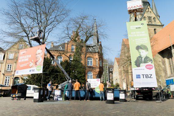 Kampagnenpräsentation am Südermarkt