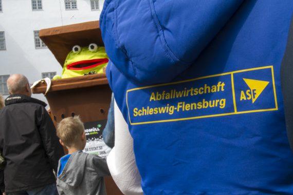 """Jacke mit """"Abfallwirtschaft Schleswig-Holstein – ASF"""""""